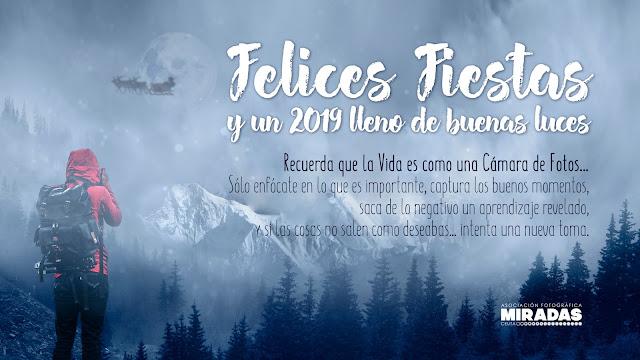 Felices Fiestas y un 2019 lleno de buenas luces