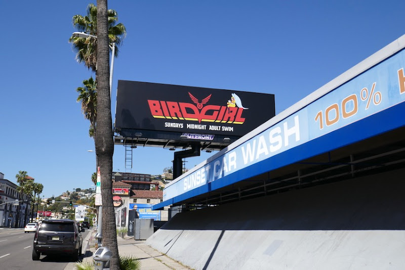 Birdgirl season 1 billboard