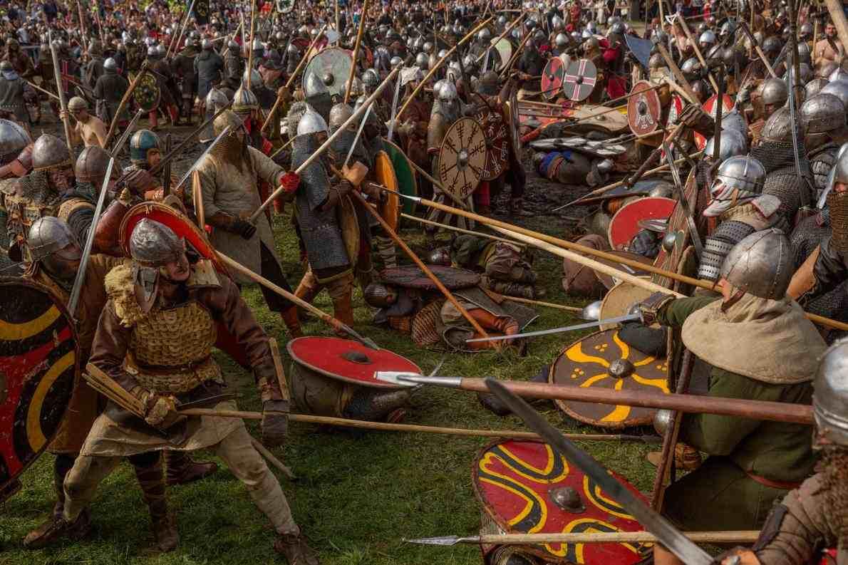 Invasões e Guerras Dos Vikings