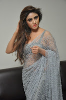 Actress Sony Charistha Latest Pos in Silver Saree at Black Money Movie Audio Launch  0033.jpg