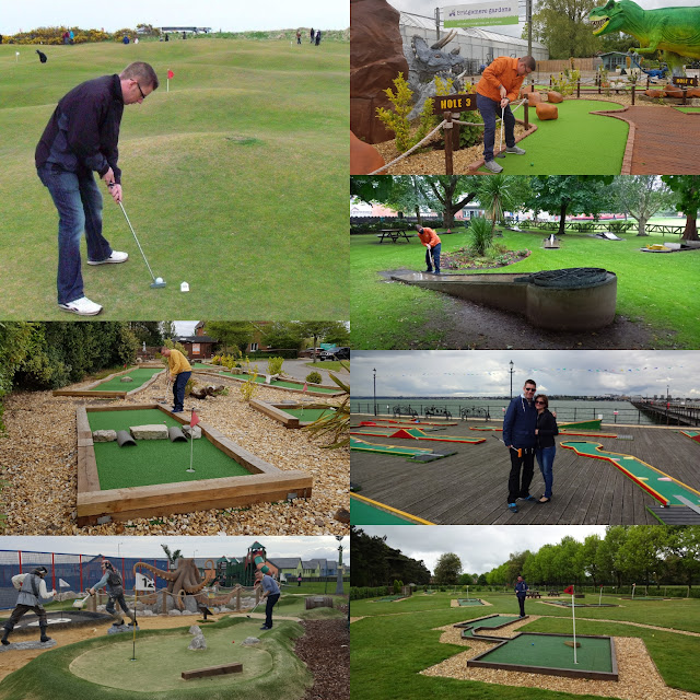 A selection of courses played on our Crazy World of Minigolf Tour