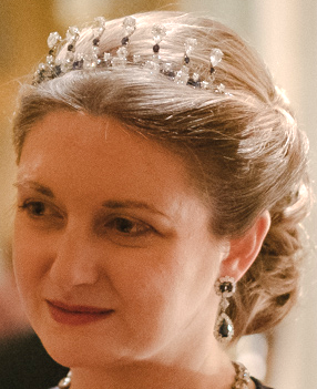luxembourg sapphire necklace tiara grand duchess josephine charlotte stephanie