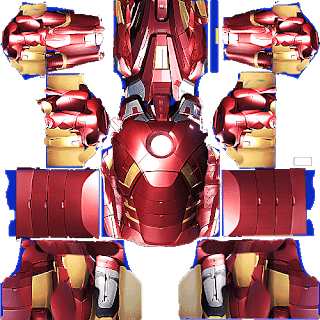 kit dream league soccer iron man