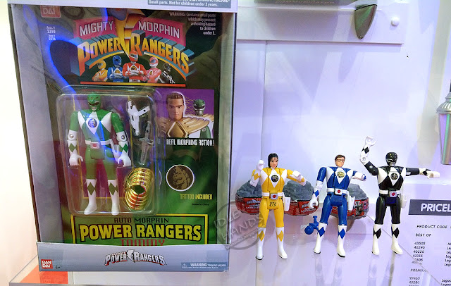 Toy Fair 2018 Bandai Power Rangers Toys