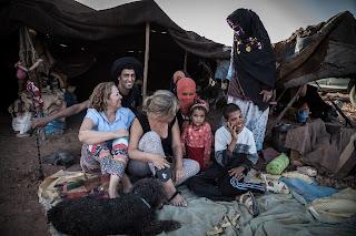 nomadas,desierto de marruecos,bereber,kasbah luna del sur, viajando
