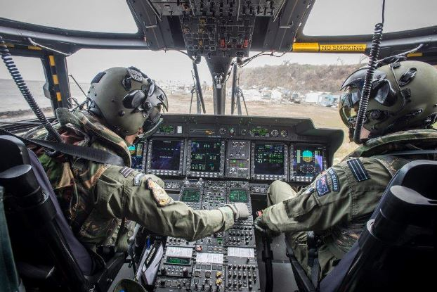 NH90 NFH cockpit