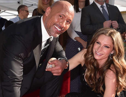 dwayne johnson pregnant girlfriend