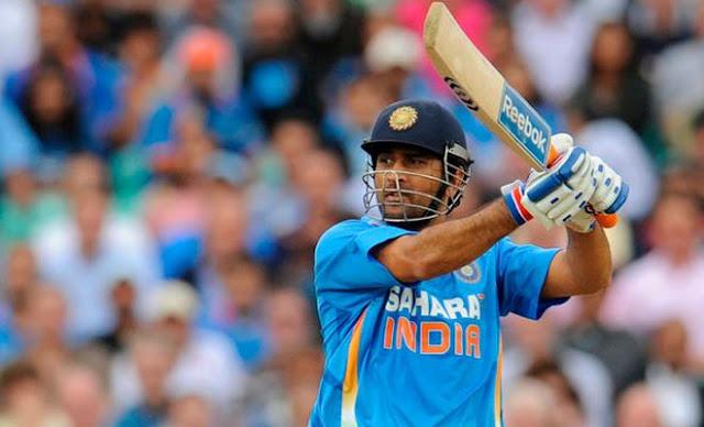 MS Mahendra Singh Dhoni Indian Cricket Team Captain