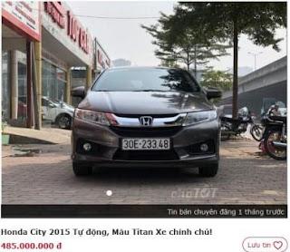 Honda City cũ