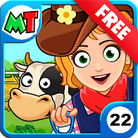 My Town : Farm Life Animals Game Mod Apk