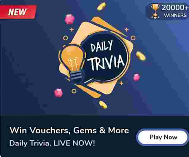 Flipkart Trivia Quiz answers today 9 July 2020 | Win vouchers or gem