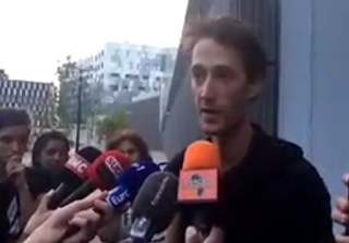 Le reporter Gaspard Glanz annonce qu'il se rendra sur la manifestation de samedi malgré l'interdiction qui lui a été faite hier soir par la justice