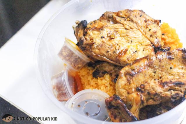 Chicken Inasal Tub of Byrd Tub
