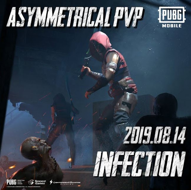 pubg mobile infection mode