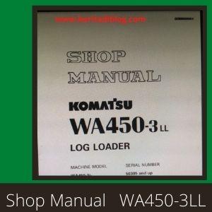 WA450-3 shop manual wheel loader komatsu