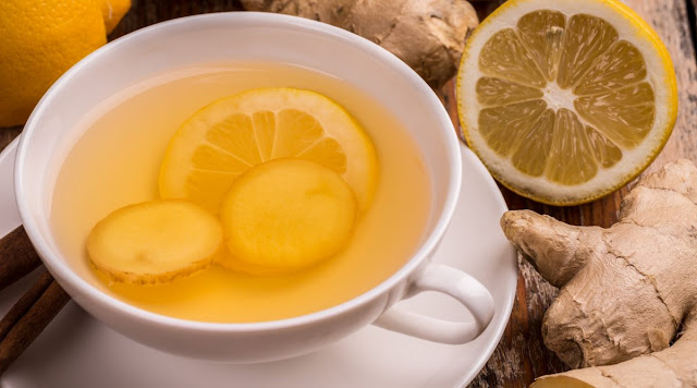 Lemon And Ginger Tea Daily
