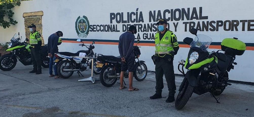 hoyennoticia.com, Dos capturados por moto robada en Dibulla