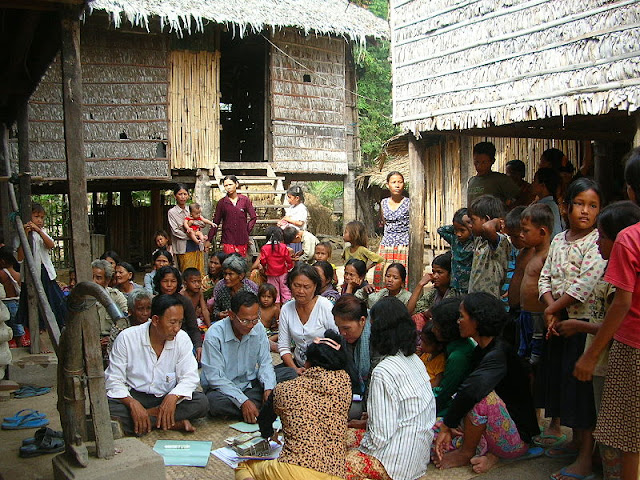 Image Attribute: A village bank in Takeo province, Cambodia. Photo by Brett Matthews, January, 2006 / Source: Wikimedia Commons