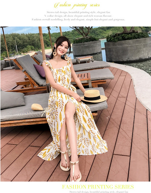 Shop ban vay maxi di bien gia re tai Hoang Mai