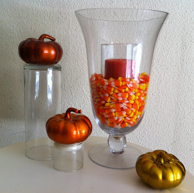 Small Town Sisters Diy Fall Decor Candy Corn Center Piece