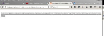 error drupal8