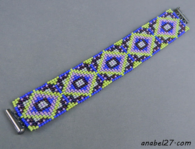 beaded bracelet seed bead jewelry blog loom beading