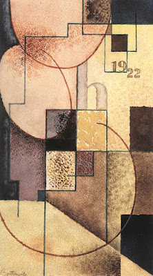 Sandor Bortnyik - Geometrical Composition (1922)