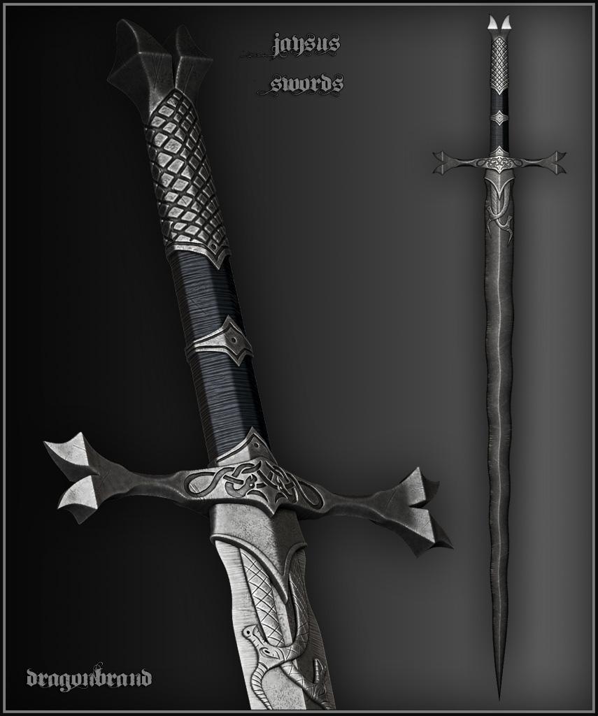 fantasy+swords | sword 3 kulvar s warblade indestructible ... |Fantasy Bastard Sword
