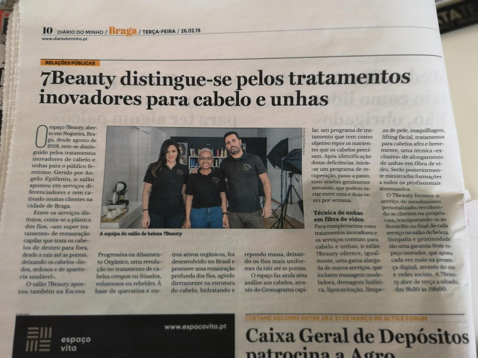 Salão de beleza em Braga distingue-se pelos tratamentos inovadores para cabelo e unhas