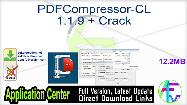 PDFCompressor-CL 1.1.9 + Crack