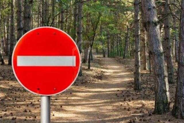 Απαγόρευση κυκλοφορίας οχημάτων και η παραμονή εκδρομέων σε δάση και σε ευπαθείς περιοχές της Αργολίδας