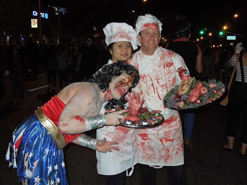 Horror chefs West Hollywood Halloween Carnaval