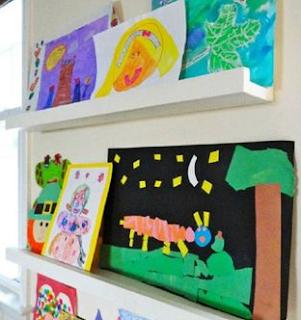 Tips Pajang Karya Seni Anak Di Rumah