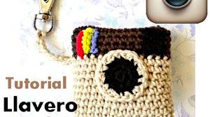 Llavero de Instagram a Crochet / Tutorial