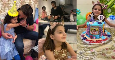Shahid Afridi Celebrating Birthday of His Daughter Asmara Afridi