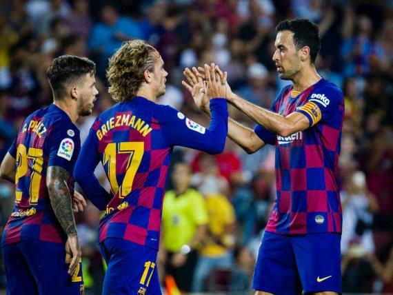 اهداف مباراه برشلونة وفالنسيا في الدوري الاسباني اليوم السبت 14-9-2019