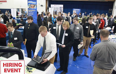 Hiring same day: Construction and Oilfield Jobs Needed in a multi-company Event.