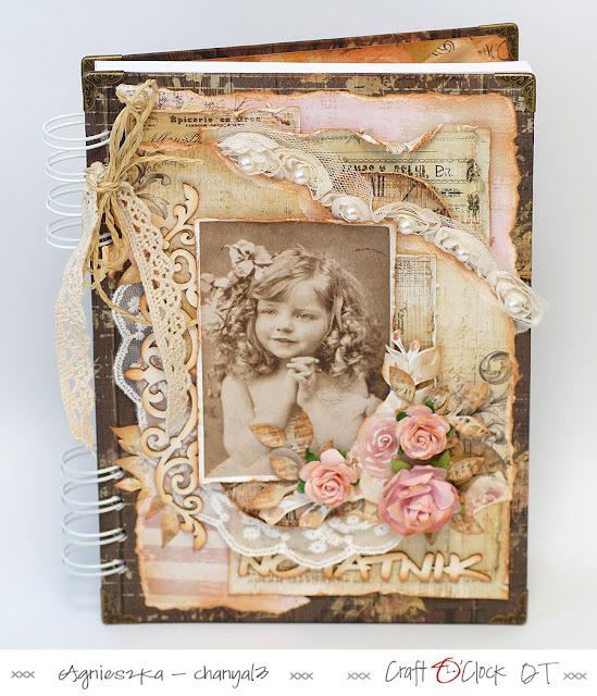 406. Notes dla kobiety w stylu vintage