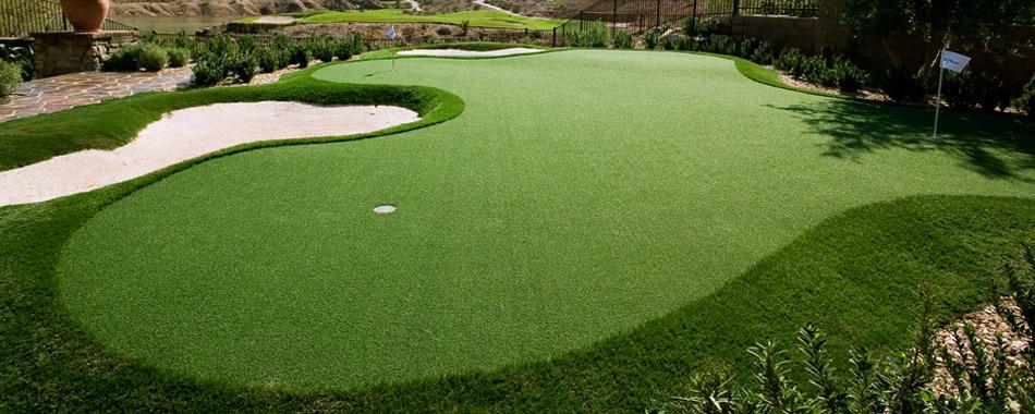 Newturf Solutions: It seems the backyard golf green is as ...