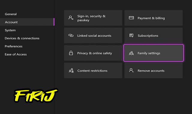 Comment bien configurer le contrôle parental de Xbox