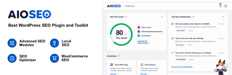 AIOSEO – The Best WordPress SEO Plugin & Toolkit
