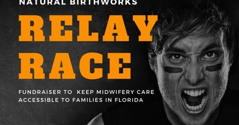 Relay Race Fundraiser for South FL Midwives