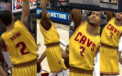 NBA 2K13 Cleveland Cavaliers Alternate Jersey Patch
