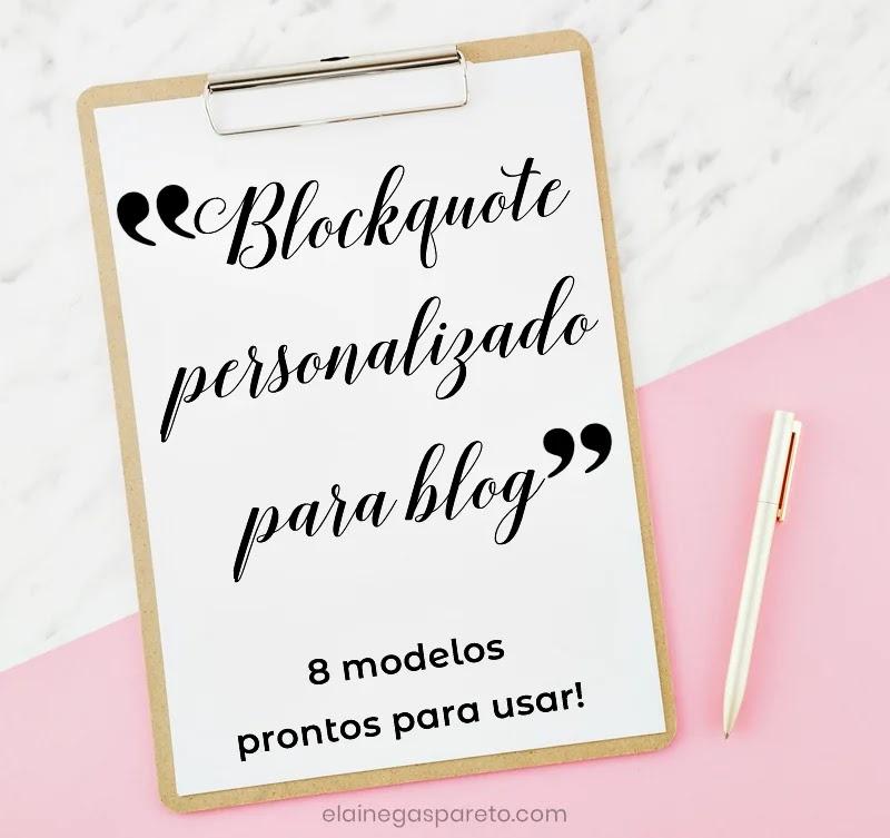 8 modelos prontos de blockquote para usar no blog