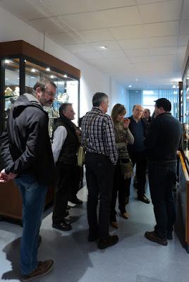 Visita al museo de Geología de Oviedo