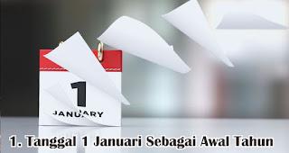 Alasan Kenapa Tanggal 1 Januari Di Tetapkan Sebagai Awal Tahun merupakan fakta unik dan menarik seputar tahun baru
