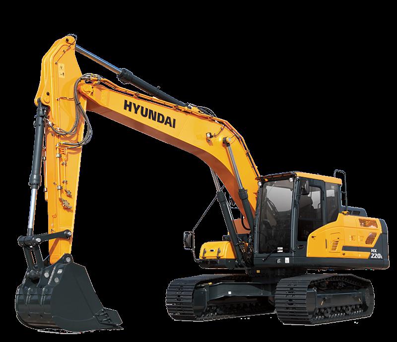 Hyundai Excavators HX220L