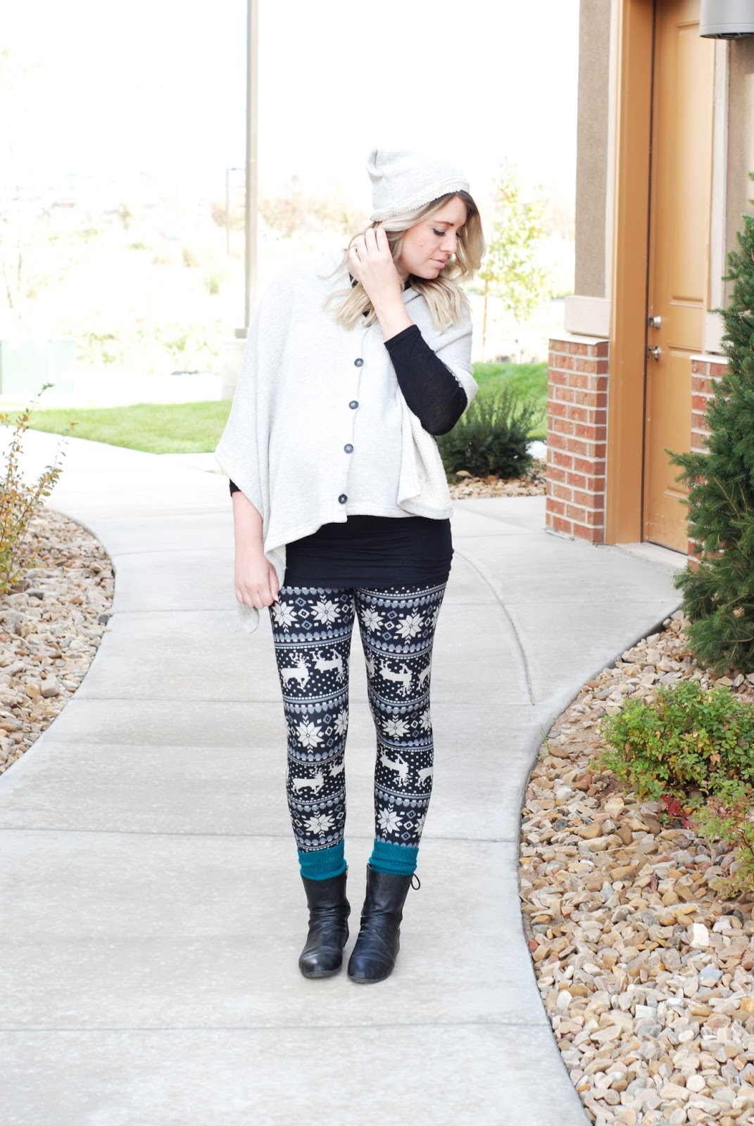 White Plum, Leggings, Evy's Tree, Utah Fashion Blogger