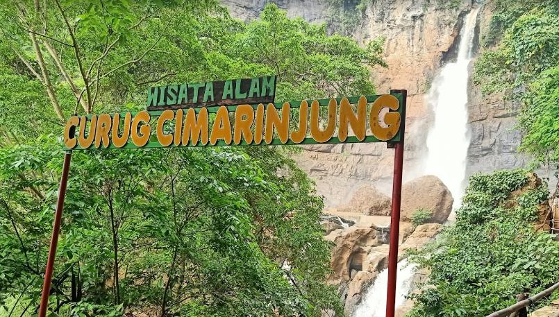 Curug Cimarinjung Sukabumi, Harga Tiket, Lokasi