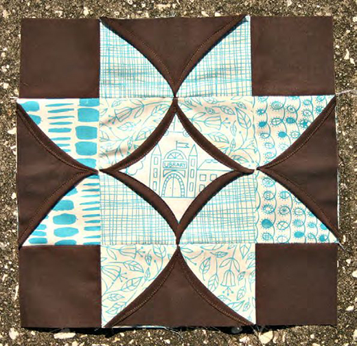 Cathedral Windows Quilt Block free Tutorial
